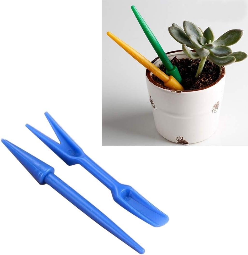 Herramientas de jardinería Dispositivo de trasplante de jardinería Sembradoras Herramienta de excavación para plántulas Bandejas de viveros de jardín Entrega de colores al azar