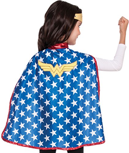 Imagine by Rubies Kids Wonder Woman Cape Set Costume, One Size