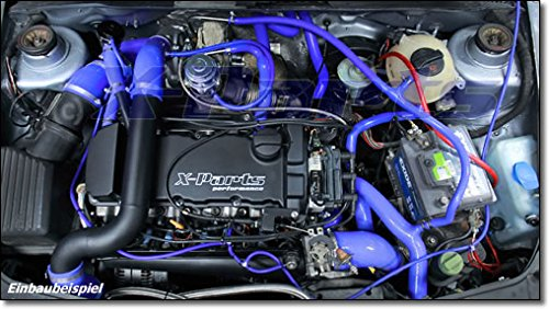 Aire de carga verrohrung Golf 3 VR6 Turbo Vento OHG - Ladel UFT enfriador Garrett LLK: Amazon.es: Coche y moto