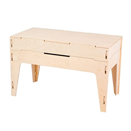 Image Unavailable. Image Not Available For. Color: Unfinished Storage Piano  Bench ...