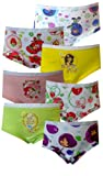 Fruit of the Loom Little Girls Strawberry Shortcake Brief (Pack of 7)