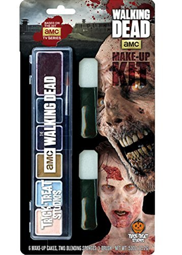 Zombie Makeup Walking Dead (The Walking Dead Zombie Walker Make up Kit)