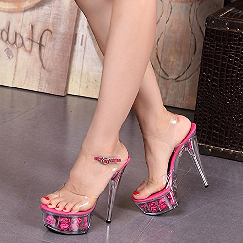 15Cm Scarpe A white Crystal Di Scarpe Scarpe Sexy Sandali Tacchi In GTVERNH Ultra Scarpe Spillo Estate Sposa Sposa zFqvvR