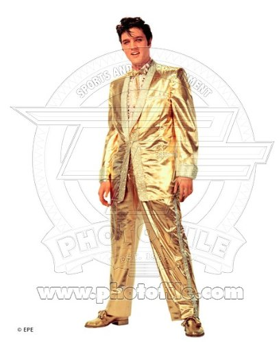 Elvis Presley - Official 8 x 10 fotos brillante (lleva traje de ...
