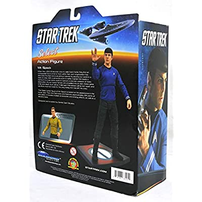 DIAMOND SELECT TOYS Star Trek Movie Select: Spock Action Figure: Toys & Games