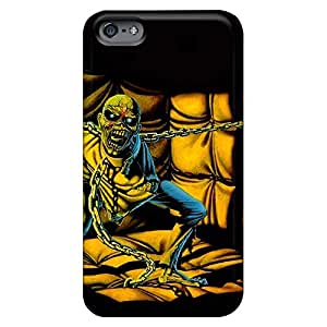 iphone 4 /4s Hot mobile phone carrying covers Durable phone Cases Brand iron maiden pom