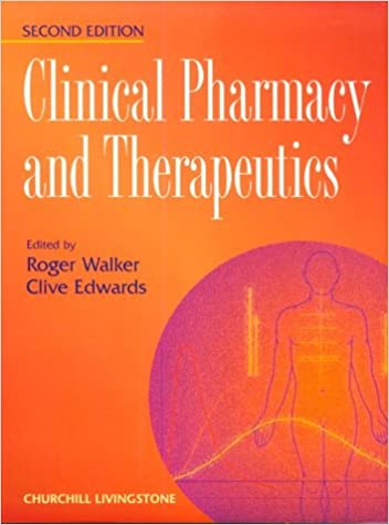 Clinical pharmacy and therapeutics.