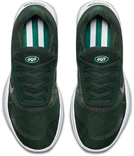 Nike Heren Gratis Trainer V7 Nfl Jets Sportschoenen (spar, 10 D (m) Us)