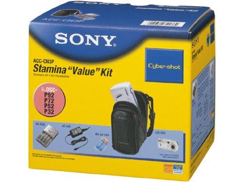 (Sony ACCCN3P Starter Kit for DSCP32 / P41 / P52/P72 / P73/P92 / P93/W1 / F88 Digital Cameras )