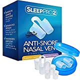 Compra Premium Anti Snore Nose Vents Sleep Aid Device – Stop Snoring Naturally and Instantly - #1 Snore Stopper By SleepPro™ (Fine Grade Silicone) en Usame