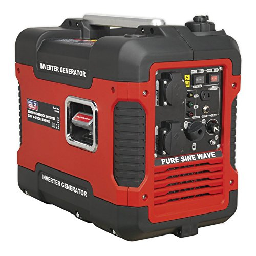 Sealey G2000I Inverter Generator 2000W 230V 4-Stroke Engine