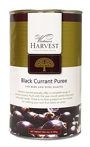 Home Brew Ohio Vintner's Harvest Fruit Puree-black Currant 49 oz