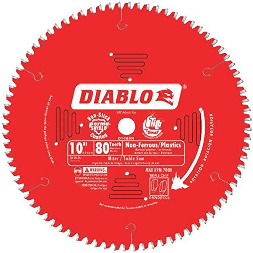 Diablo D1080N Non-Ferrous Metal & Plastic Cutting Saw -