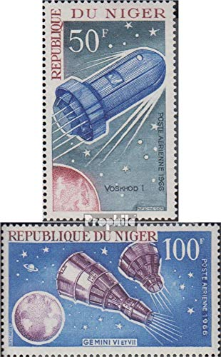 Niger 137-138 (Complete Issue) 1966 Space (Stamps for Collectors) Space