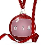 Christmas Decoration United States of America Simple Ornament