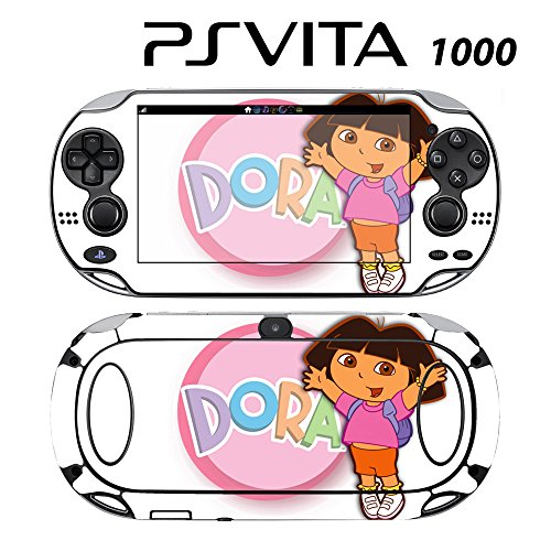 Decorative Video Game Skin Decal Cover Sticker for Sony PlayStation PS Vita (PCH-1000) - Dora the Explorer and Boots -  Decals Plus, PV1-DB03