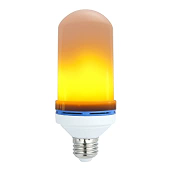 Bombilla LED Vela hexone® – E27 decoración efecto fuego natural réaliste para antorcha chimenea para