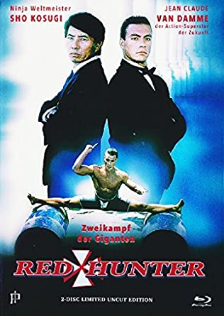Red Hunter - Uncut - Mediabook + DVD Francia Blu-ray: Amazon ...