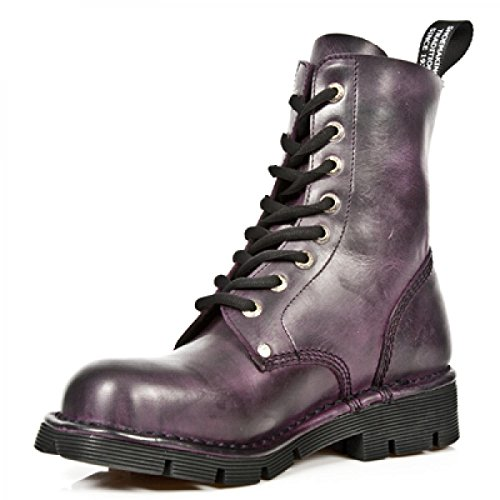 6 M New Newmili NEWMILI084 Purple Boots Rock Purple UK S3 HHxq8gCw