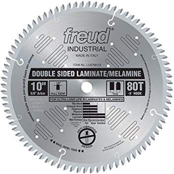 Freud Lu97m010 10 Quot 80 Tooth Tcg Double Sided Laminate And