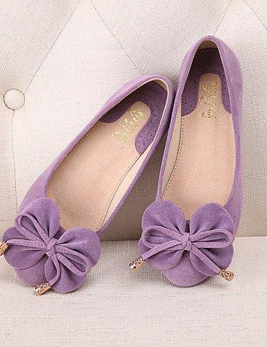 5 talón tipo uk6 de mujer zapatos cn40 eu39 plano Flats fuchsia casual Punta Mocasín de más cerrado ante Redonda colores PDX Toe 5 vestido us8 disponibles dX0SqgxS