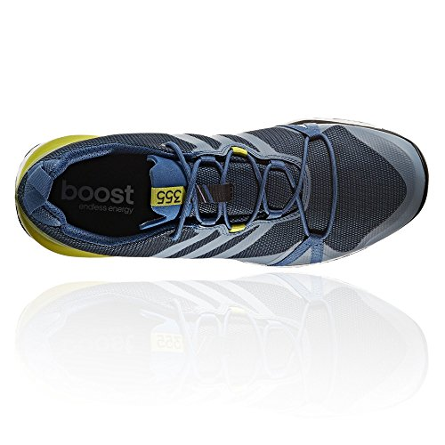 adidas Herren Terrex Agravic GTX Wanderschuhe, Blau (Blu Azubas/Negbas/Limuni), 40 2/3 EU