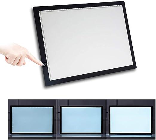 LED A3 Tableta de Luz, Mesa de Luz de Dibujo, Tablero de Trazado ...