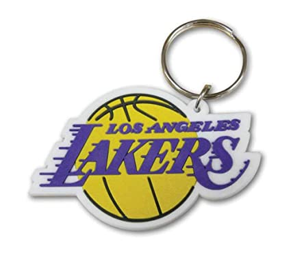 NBA - Los Angeles Lakers Logo de goma llavero, llavero ...