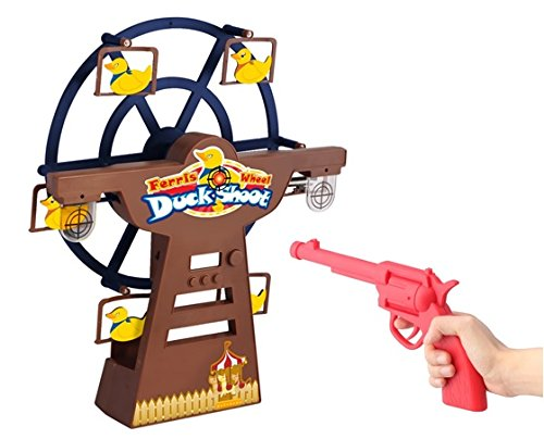 (Daron Worldwide Trading Digital Ferris Wheel Duck Shoot Electronic Duck Shoot)