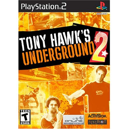 Tony Hawk's Underground 2 - PlayStation 2 (Console Ps2 Complete)