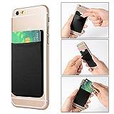 XCSOURCE 2pcs Elastic Lycra Cell Phone Wallet Case Credit ID Card Holder Pocket