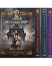 A Series of Unfortunate Events #1-4 Netflix Tie-in Box Set