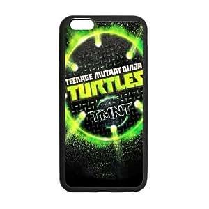 """LeonardCustom Protective Hard Rubber Coated Cover Case for iPhone 6 Plus 5.5"""", TMNT Teenage Mutant Ninja Turtles -LCI6PU150"""