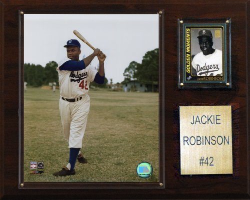 (MLB Jackie Robinson Brooklyn Dodgers Player Plaque)