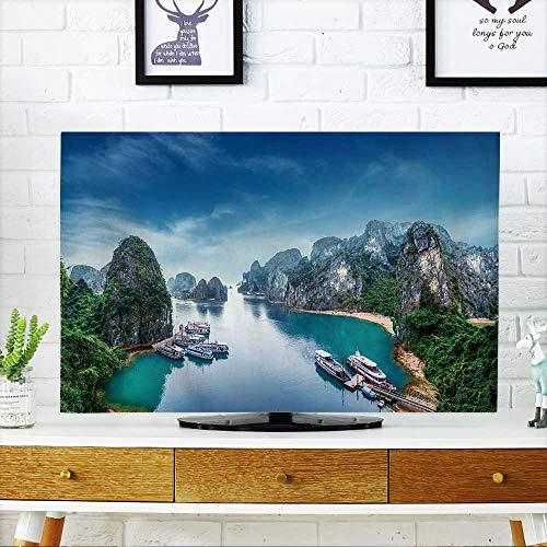PRUNUS Dust Resistant Television Protector Tourist junks Flo