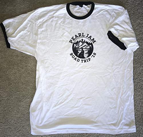 Pearl Jam t shirt 2018 road trip logo size 2x xxl seattle missoula chicago boston tour new
