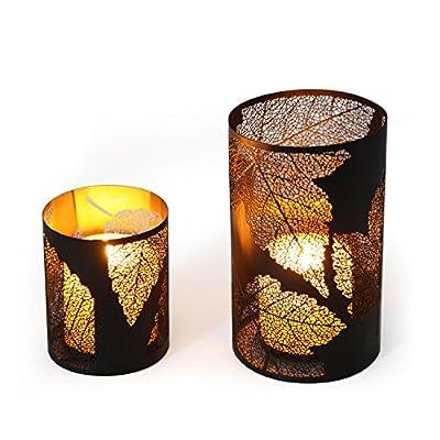 Asense Metal Candle Holder and Lantern