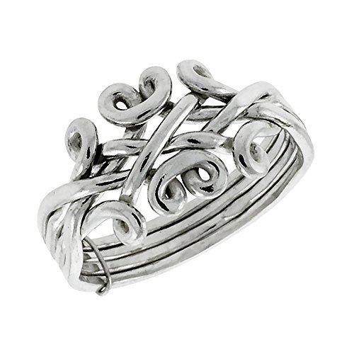 Sterling Silver 4 Piece Puzzle - 3