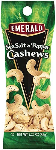 Emerald Sea Salt and Pepper Cashew, 1.25 ounce -- 144 per case. by Diamond Foods, Inc.