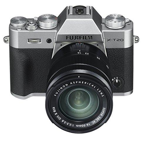 Fujifilm X Series X-T20 Mirrorless Digital Camera (Silver) 2