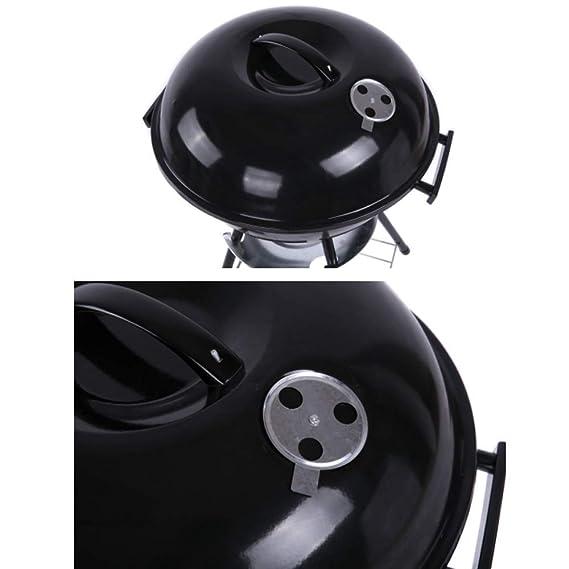 Amazon.com: FQCD Parrilla de carbón para barbacoa, barbacoa ...