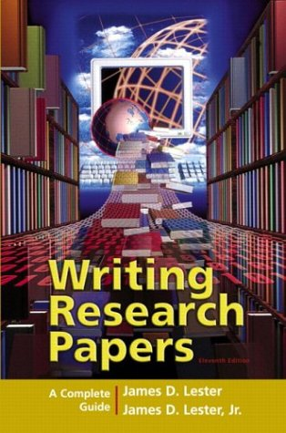 Writing Research Papers: A Complete Guide (perfect-bound) (11th Edition)