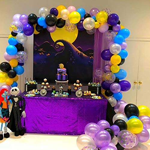 Allenjoy 7x5ft Nightmare Before Christmas Themed Backdrop