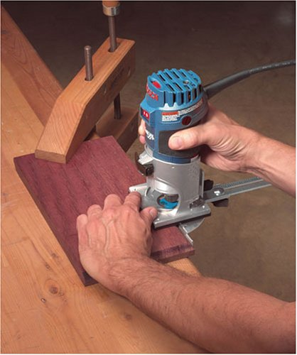Bosch Colt Palm Grip PR20EVSK 5.6 Amp 1-Horsepower Fixed-Base Variable-Speed Router with Edge Guide by Bosch (Image #7)