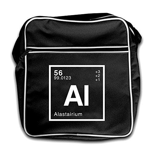 Red Retro Alastair Black Periodic Element Flight Dressdown Bag qYStdzw
