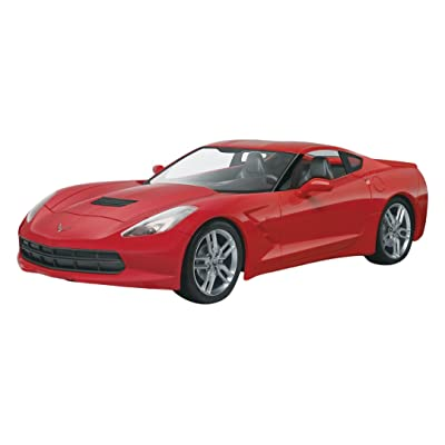 Revell/Monogram 1/25 2014 Corvette Stingray Model Kit: Toys & Games
