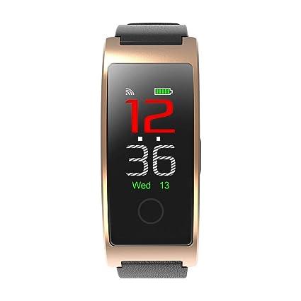 Bluetooth Reloj Inteligente CK11C Mensaje Pulsera Inteligente IP67 Impermeable Deportes Podómetro Moda Monitor de Ritmo Cardíaco