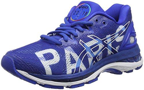 20 Paris Azul Marathon imperial Mujer imperial Para nimbus Asics 4545 De Zapatillas Gel white Entrenamiento wqpnE