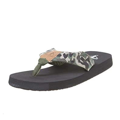 d9ba0b38eb90 Corkys Footwear Womens Ladies Trail Flip Flops 8 M US Camo
