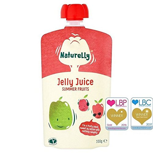 Naturelly Jelly Juice Summer Fruits Pouch 100g (Pack of 6)